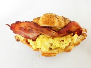 Bacon Egg Croissant