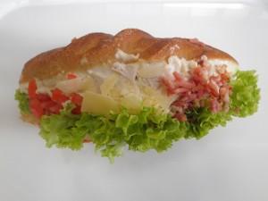 Chicken Caesar Roll