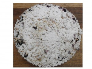 Blueberry Crumble Tart