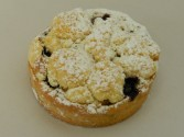 Blueberry Crumble Tartlette